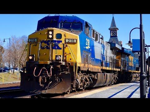 CSX Freight Trains!