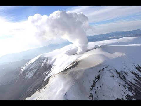 nevado del ruiz - colombia