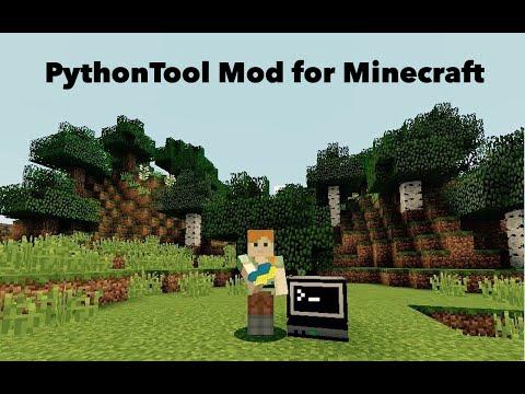 Interactive Python Programming for Minecraft: PythonTool Mod: 4