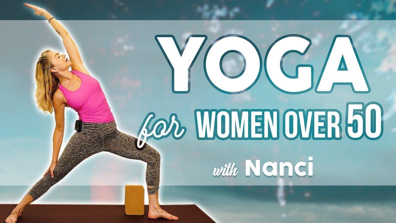 Gentle Mood Balancing Yoga For Strength Flexibilitybeginners Women Over 50 Hormone Support Youtube