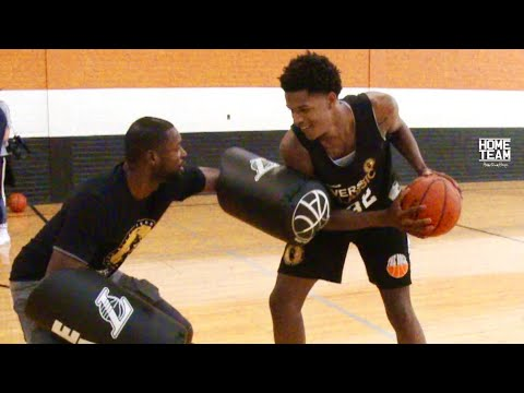 "Shareef O'Neal Vs. Basketball Scout! ""He's A PRO"" - 1 on 1 EAT Pad Challenge"