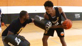 """Shareef O'Neal Vs. Basketball Scout! """"He's A PRO"""" - 1 on 1 EAT Pad Challenge"""