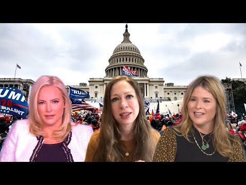 Meghan McCain, Jenna Bush Hager and Chelsea Clinton's Emotional Reactions to Capitol Riots
