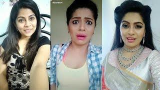 Nila Sun Tv Serial Latest Tamil Dubsmash Tik Tok | Bavithra | vj bavithra