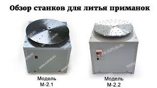 Обзор новых центробежных станков для литья приманок