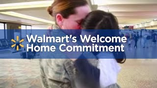 Walmart sets a goal to hire more than 100000 veterans over the next five years.