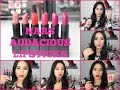 NARS Audacious Lipsticks Lip Swatches Review