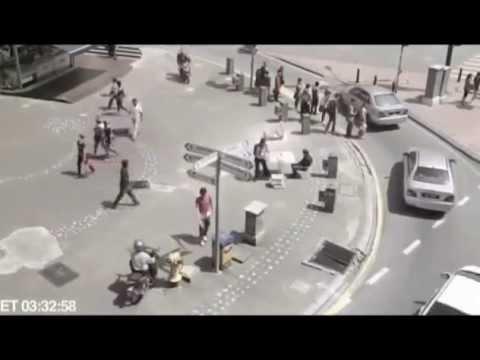 Ghost Caught on CCTV - Newspaper Seller in KL
