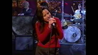 Natalie Merchant Live on Late Show with David Letterman - October 29, 1999 (Carnival)