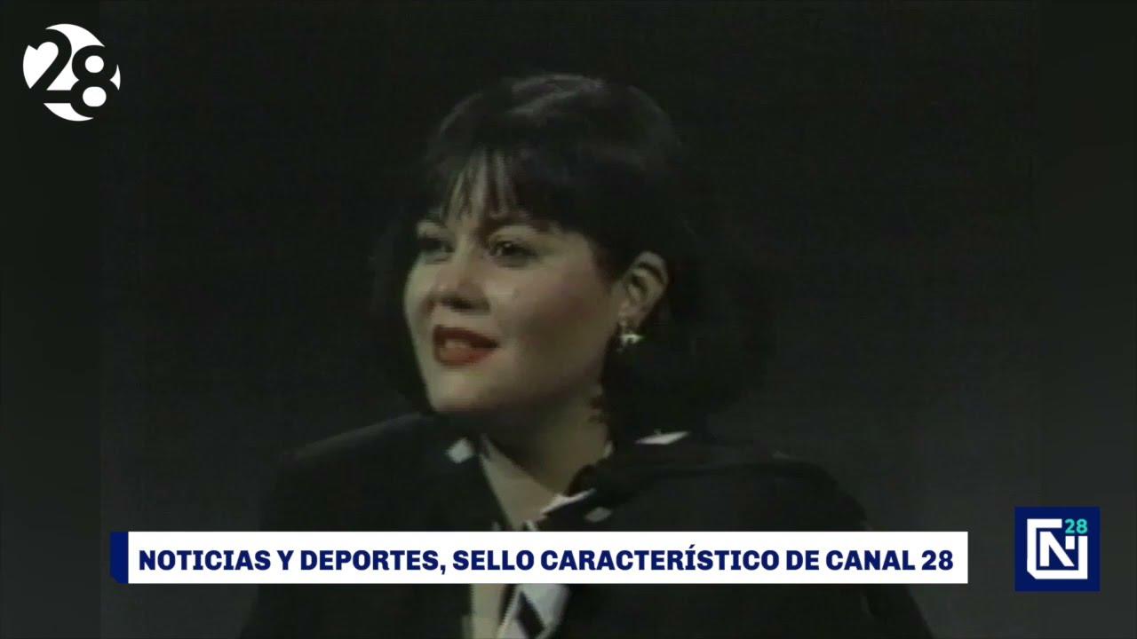Noticias y deportes, sello característico de Canal 28