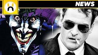 Joaquin Phoenix JOKER Movie Release Date REVEALED