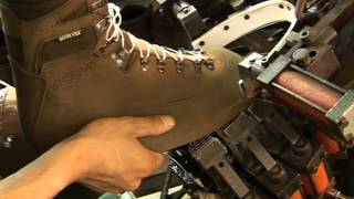 Fabrication des chaussures Asolo en Europe