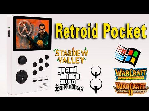 Retroid Pocket - PC/Android Gaming Test (Half Life/GTA/Quake/Warcraft/Win95)