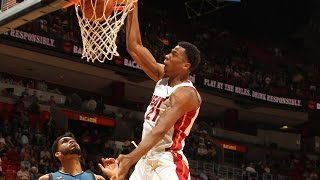 Hassan Whiteside Puts Up 22 Points, 14 Rebounds, 10 Blocks for Second Triple-Double!