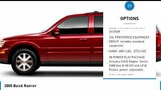 2005 Buick Rainier LL8007C