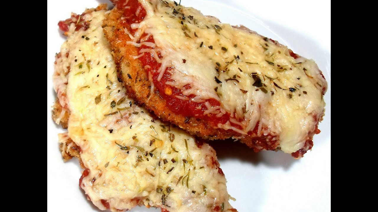 Youtube best chicken parmesan recipes
