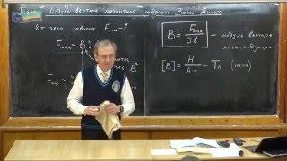 Урок 271. Модуль вектора магнитной индукции. Закон Ампера