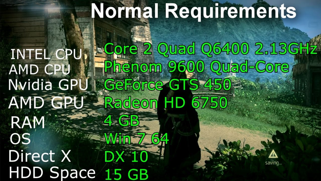 Assassin S Creed 5 Unity System Requirements Minimum