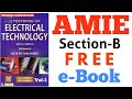 AMIE FREE e-Book Electrical Technology Section-B #electrical_technology #amie_electrical #iei #free