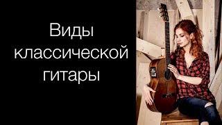 Различные формы классической гитары