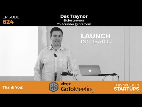 Thinking through the funnel: Des Traynor, Intercom founder, on how to acquire & retain customers