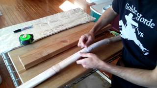 Building A Pvc Lothlorien Elf-bow: Complete Video