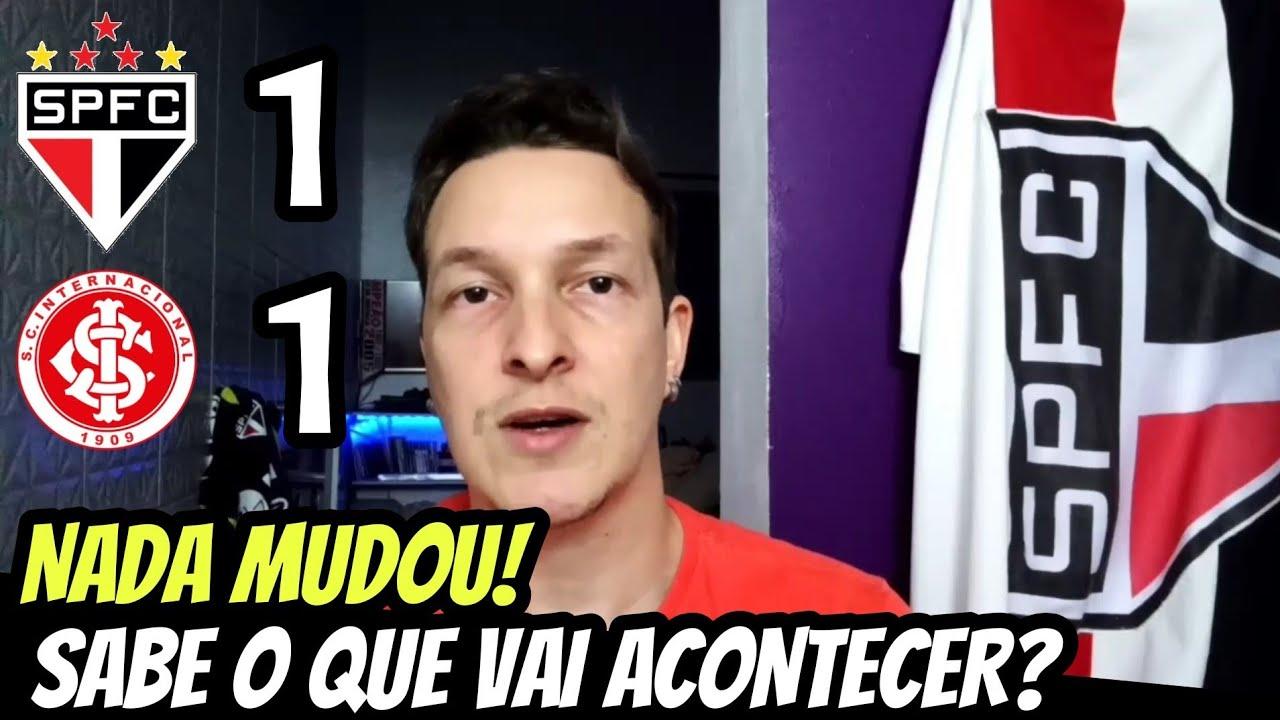 DINIZ, PEDE PRA SAIR! INTERNACIONAL 1 X 1 SPFC | PÓS JOGO