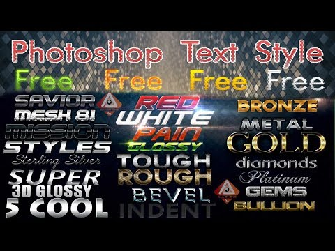 Photoshop Styles Pack Free Download For Designing 1000+