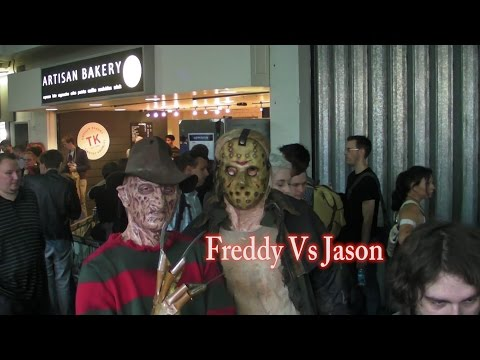 Freddy Vs Jason London Film & Comic Con July 2015 LFCC