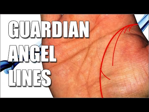 GUARDIAN ANGEL LINES Female Palm Reading || Palmistry #165