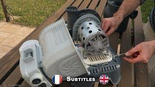 Démontage moteur pompe Intex