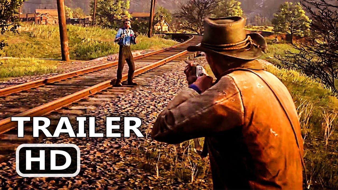 PS4 - Red Dead Redemption 2: Official Gameplay Trailer (2018)