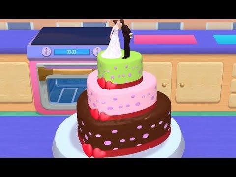 Моя ПЕКАРНЯ Романтический Торт - Новая Игра 5