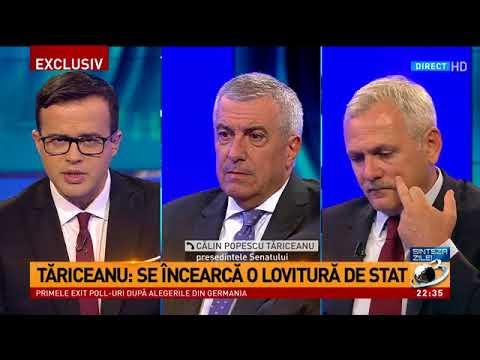 Tăriceanu: Se încearcă o lovitură de stat, se vrea dărâmarea Guvernului
