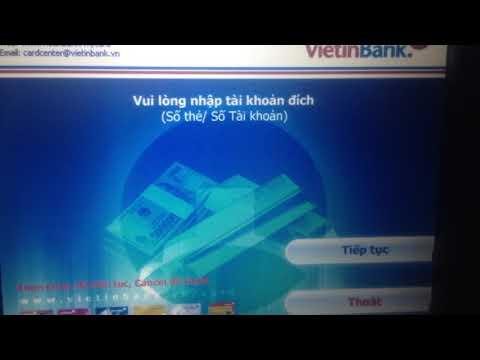 Cách Chuyển Khoản Từ Thẻ ATM Vietinbank Sang Sacombank