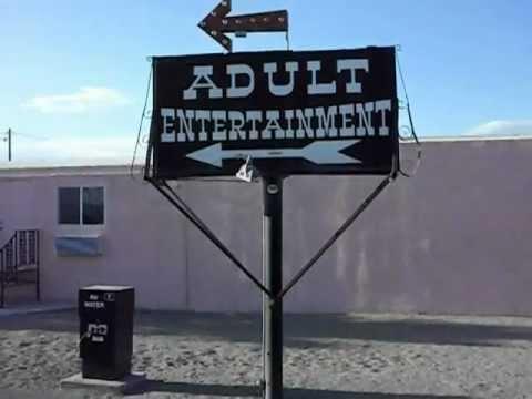 Brothel adjacent Area 51 at Amargosa, Nevada (Yucca Mountain Travel Center)