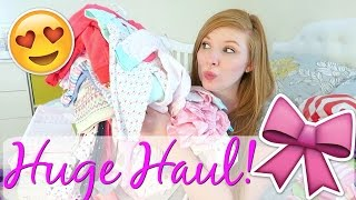 HUGE BABY GIRL HAUL!