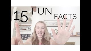 ♡ 15 FUN FACTS! || Heyiamgrace Thumbnail