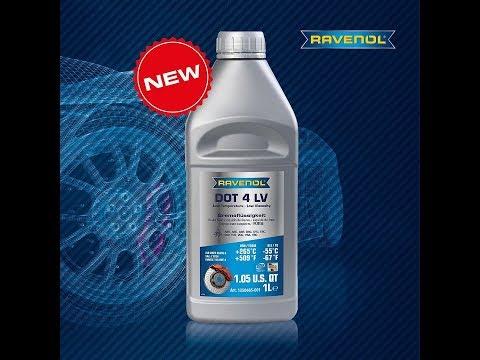 Новая тормозная жидкость для холодного климата Ravenol DOT-4 LV