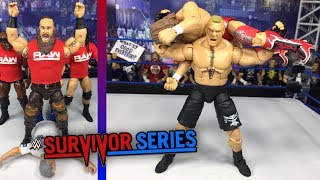 WWE SURVIVOR SERIES 2018 FULL SHOW REVIEW! WWE FIGURES!
