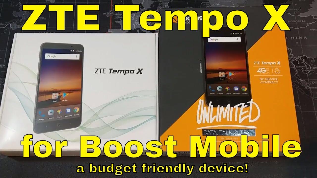 Boost Mobile APN settings for ZTE Tempo X - APN Settings USA