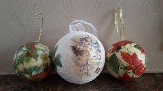 Tutorial Pallina Di Natale Ad Uncinetto Crochet Christmas Ball