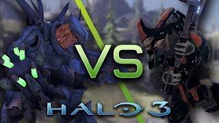 Halo 3 AI Battle - Hunters vs Brute Chieftains