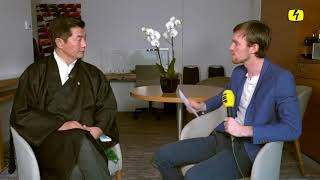 The President of CTA Dr. Lobsang Sangay's interview to Swiss Tele Top