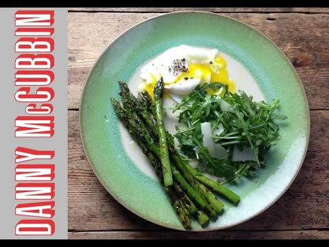 Quick & Easy Grilled Asparagus | Poached Egg