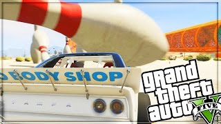 BOWLING WITH CARS - GTA 5 ONLINE FUNNY MOMENTS #1
