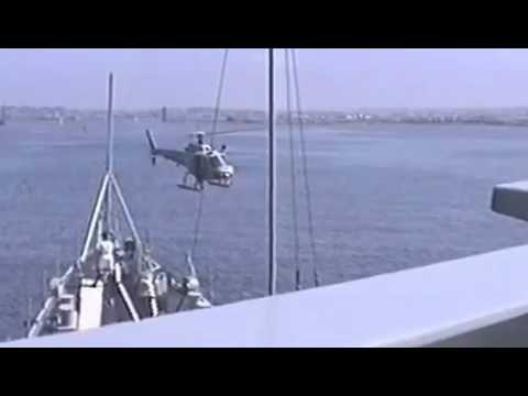 HMAS Hobart entering San Diego Harbour 1992 1 of 2