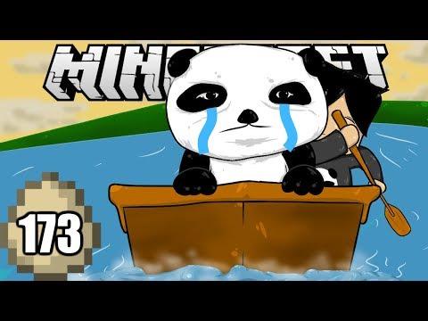 Minecraft Survival Indonesia - Membawa Pulang Panda! (173)