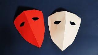종이접기 아이언맨 헬멧 가면 만들기 Origami Ironman Helmet Mask Making