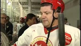 Легенды российского хоккея в Нью-Йорке